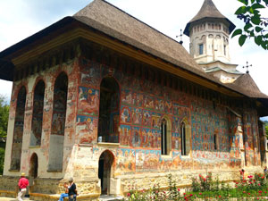 Bucovina – the land of painted monasteries