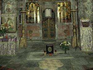 Snagov - The tomb of Vlad Tepes