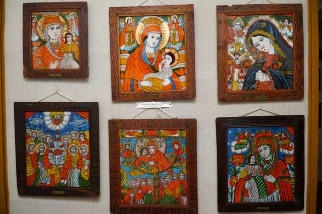Icons painted museum